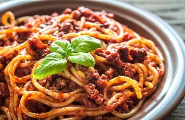 Spaghetti met Bolognese saus